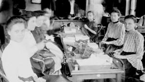 1903 Sweat Shop in Chicago