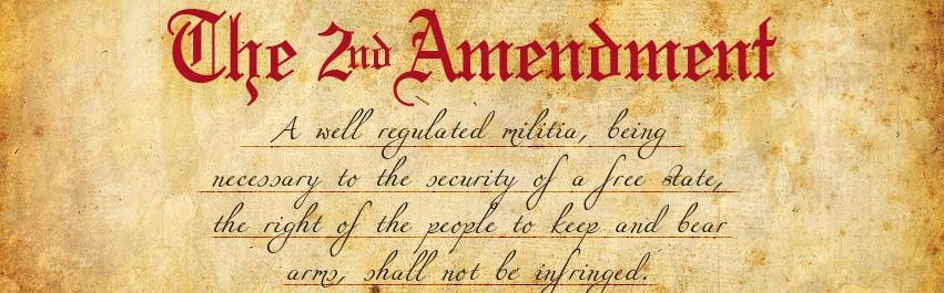 Second Amendment Banner Art