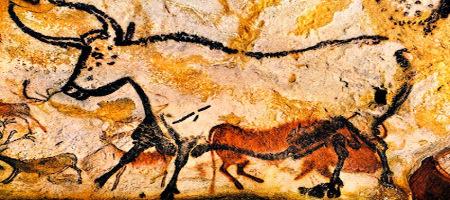 Lascaux Bull Cave Painting