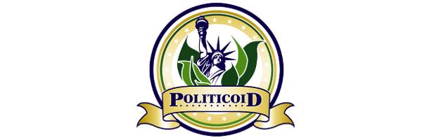 Politicoid Banner - White Background