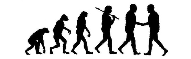 Conflict Resolution in Human Evolution