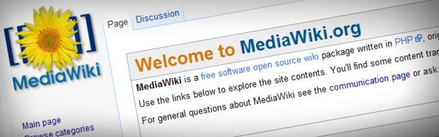 MediaWiki Free Wiki Software - Banner Image