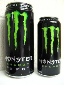 Monster Energy Drink Can F Word